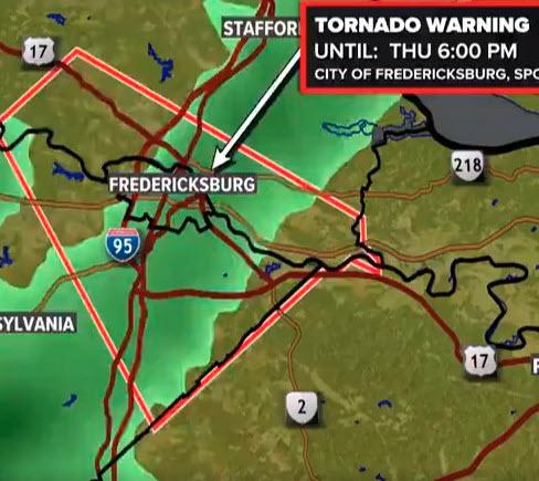 Tornado Alert and Messaging System