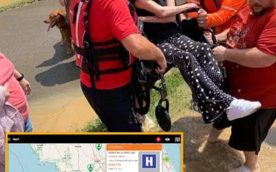 Coordinating NGOs SAR During Disasters